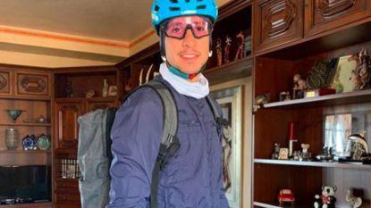 Niet alle helden dragen een cape: Italiaanse wielrenner haalt medicijnen op voor oudere dorpsgenoten