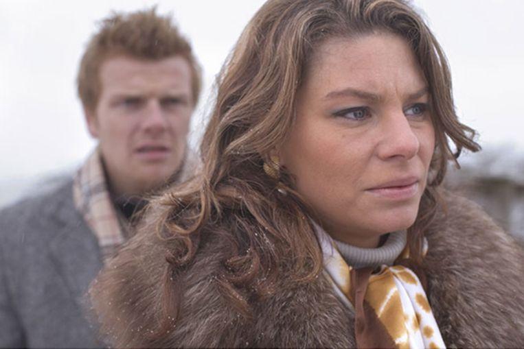 Rifka Lodeizen in 'Escort' van Frank Ketelaar. Beeld