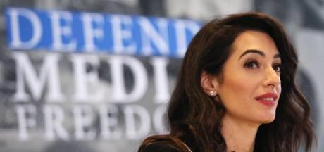Amal Clooney krijgt journalistieke prijs van Meryl Streep