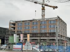 Bovenin nieuwe toren in Spoorzone wordt straks gewerkt voor (en verdiend aan) de automobilist