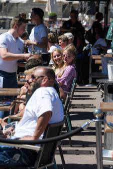Twente geniet volop van de terrassen en het zonnetje