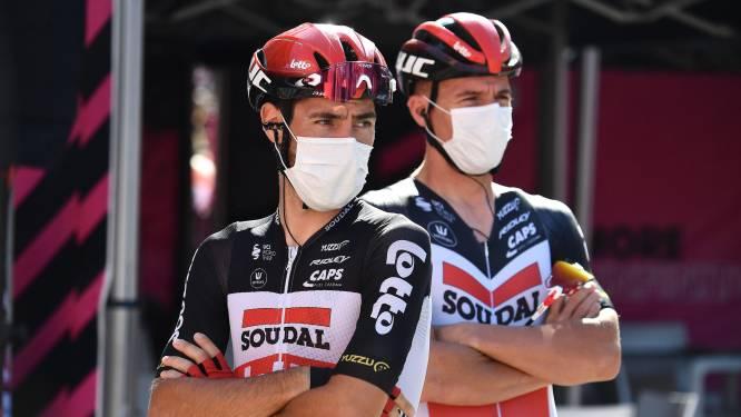 """Giro-baas niet blij met uitspraak De Gendt: """"Dingen verzwegen? Hij moet voorzichtig zijn met wat hij zegt"""""""
