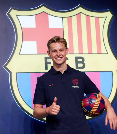 Kijk hier de presentatie van Frenkie de Jong in Camp Nou terug