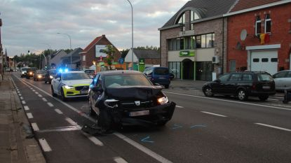 Vijf auto's beschadigd in Erpe-Mere na dubbele kopstaartbotsing