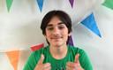 De 14-jarige Maksim in betere tijden.