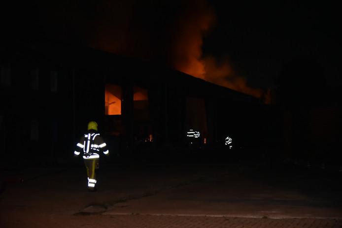 Brand aan de Rouwenboschweg