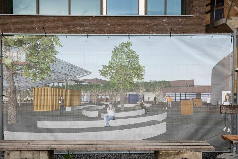 Het Sint-Augustinusinstituut in Bree (SAB) is één van de 21 scholen die een groene speelplaats krijgen en daar zijn ze terecht fier op!