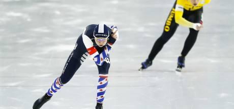 Wijfje wint 1500 meter en heeft WK-ticket voor het grijpen