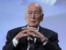 L'ancien président français Valéry Giscard d'Estaing hospitalisé à Paris