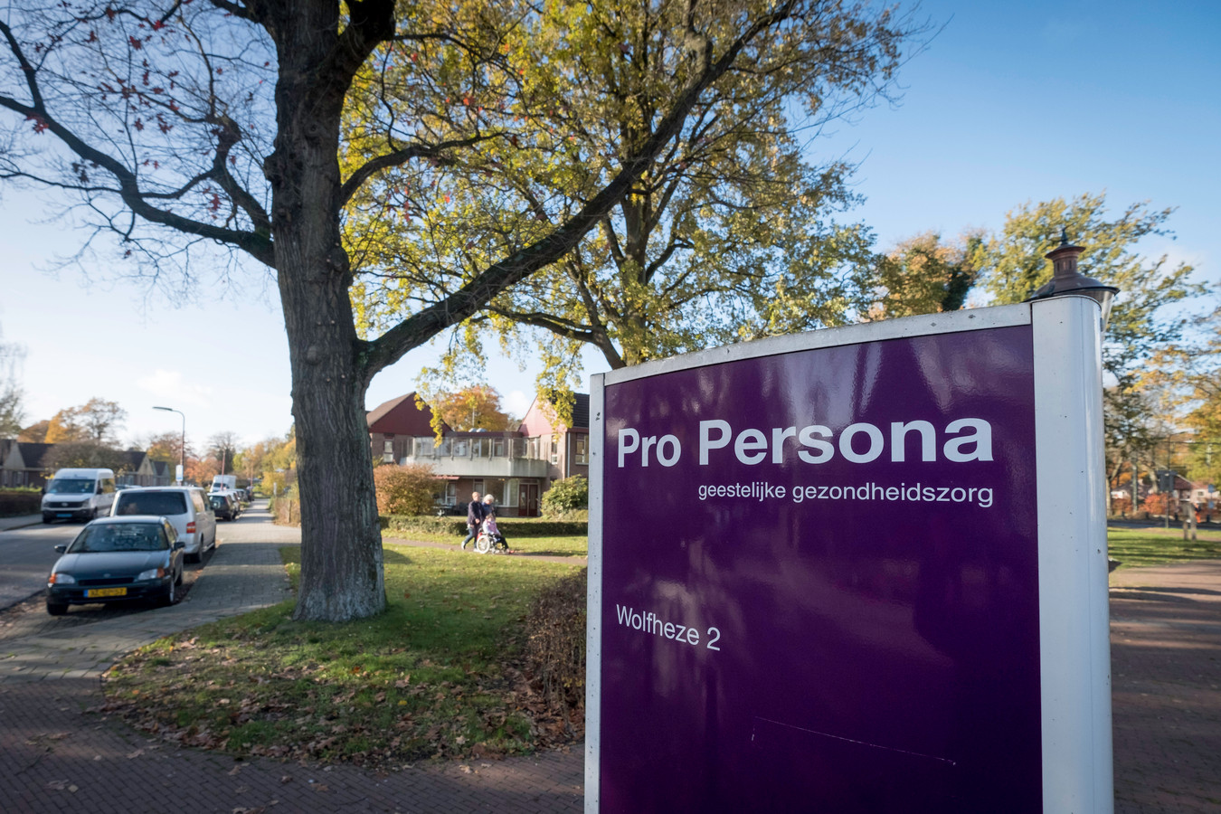 Het terrein van Pro Persona in Wolfheze.