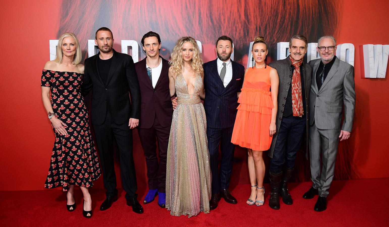 Jennifer Lawrence liep regelmatig naakt op de set van 'Red Sparrow':