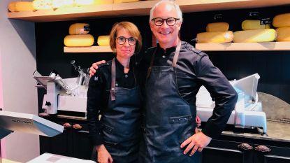 Broer en zus Quintelier al 35 jaar achter de toonbank van De Kaasmolen