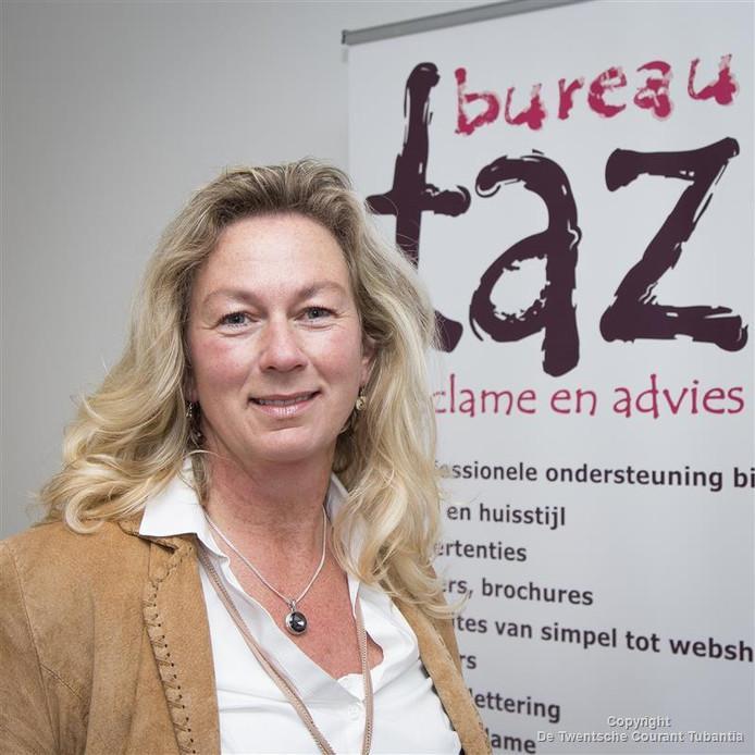 Natasja Klink: 'Een eigen kantoor biedt de mogelijkheid om prive en zakelijk gescheiden te houden.'