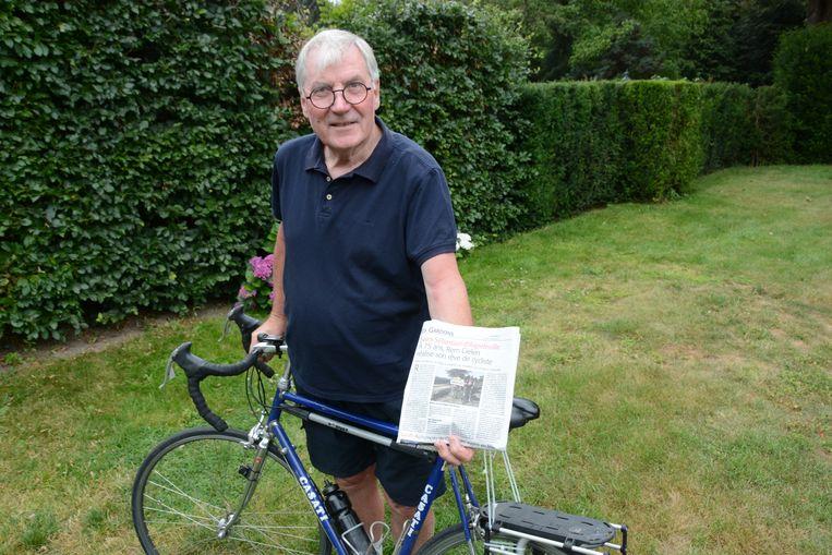 Rem Cielen haalde met zijn prestatie zelfs de krant Midi Libre.