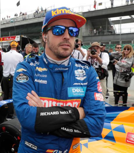 Echec voor Alonso: geen kwalificatie voor Indy500
