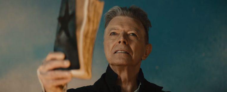 Beeld uit clip 'Blackstar' van David Bowie. Beeld