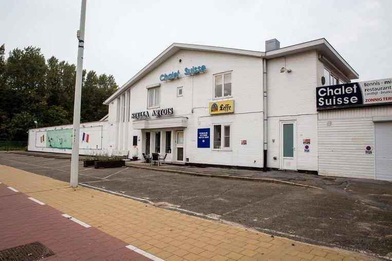 De verouderde site van Chalet Suisse in Knokke-Heist.
