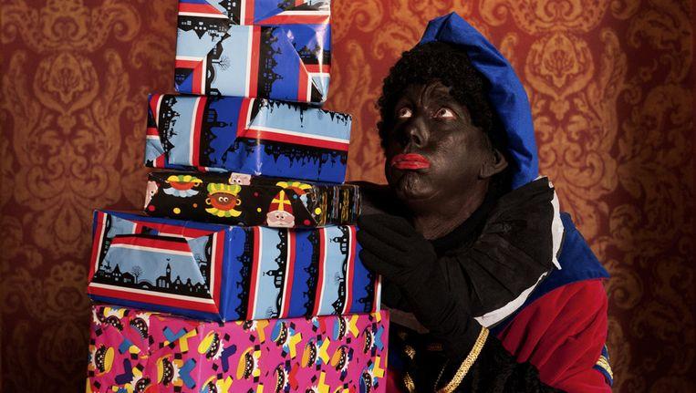 Van Fox News tot ABC News, alle bespraken ze 'the growing anti-Black Pete movement'. Beeld ANP