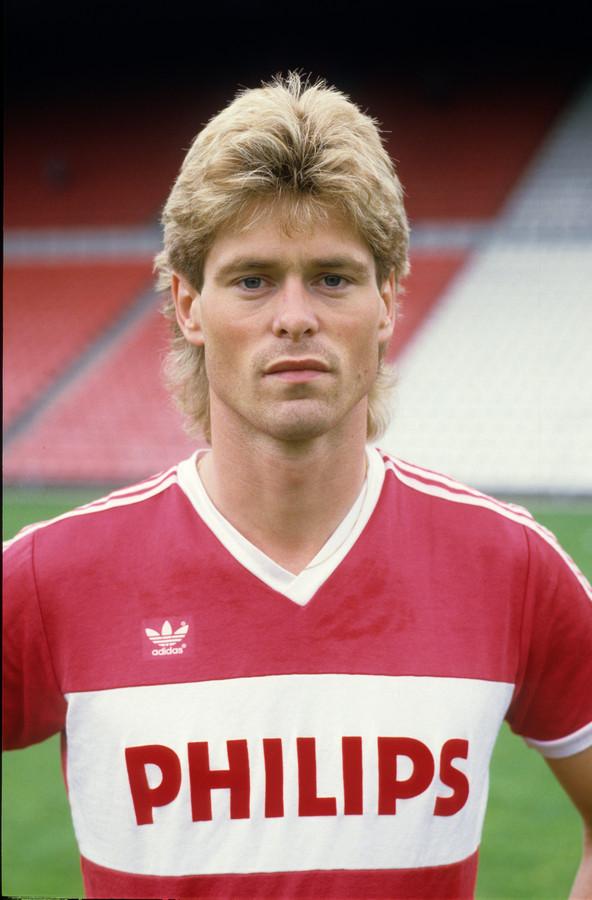 Rob McDonald in zijn tijd bij PSV.