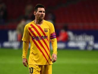 Lionel Messi ontbreekt in Champions League-selectie van FC Barcelona