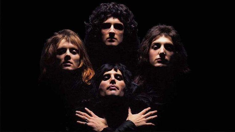 Queen in de videoclip van 'Bohemian Rhapsody'