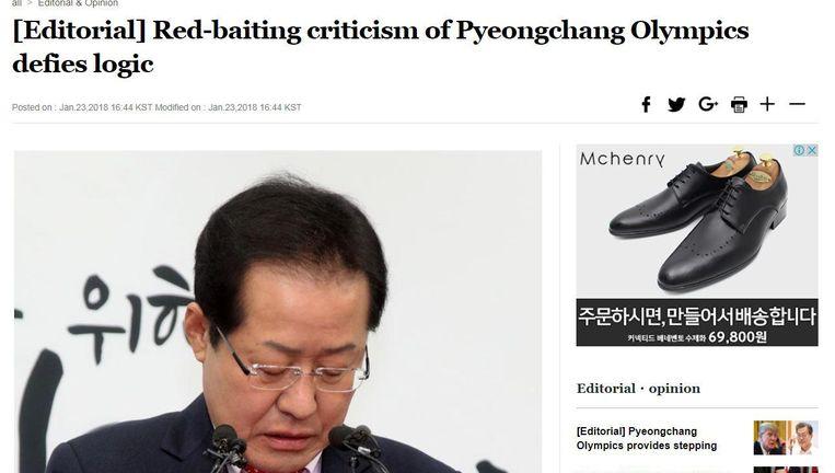 Steelt Kim-Jong-un niet teveel de show? Beeld