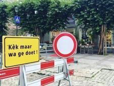 Ludiek verkeersbord in Druten is snel gestolen