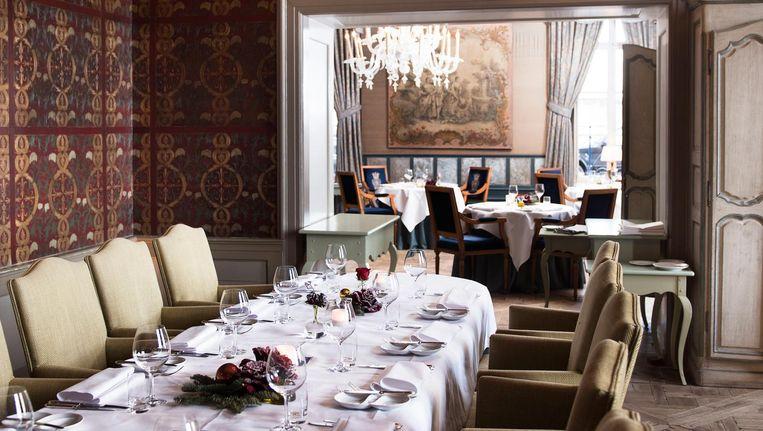 Restaurant Château Neercanne in Maastricht Beeld Els Zweerink
