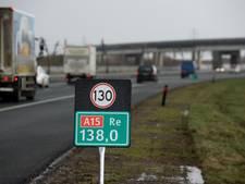 'Snelheden A15 in Rivierenland heel verwarrend'