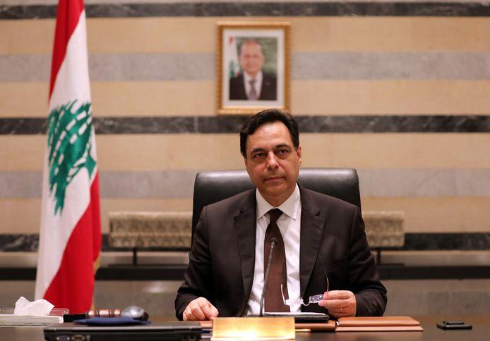 Hassan Diab, Premier ministre démissionnaire.