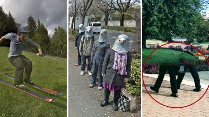 De 11 meest absurde taferelen die je via Google Street View kan vinden