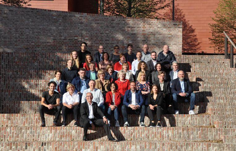 Renaat Landuyt en zijn 'sp.a de Brugse lijst', met daarop ook onafhankelijke kandidaten.