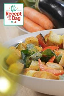Recept van de dag: Panzanella (frisse broodsalade)