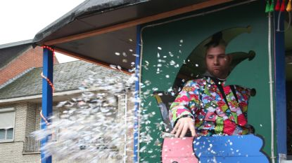 Confetti bij de vleet bij Zichemse Carnavalsvrienden (want het is mogelijk de laatste keer)