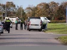 Grote politieactie op bedrijventerrein Urk