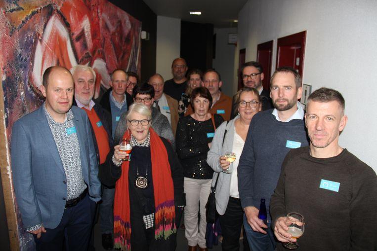 De nieuwe inwoners van Maarkedal maken kennis met de gemeente.
