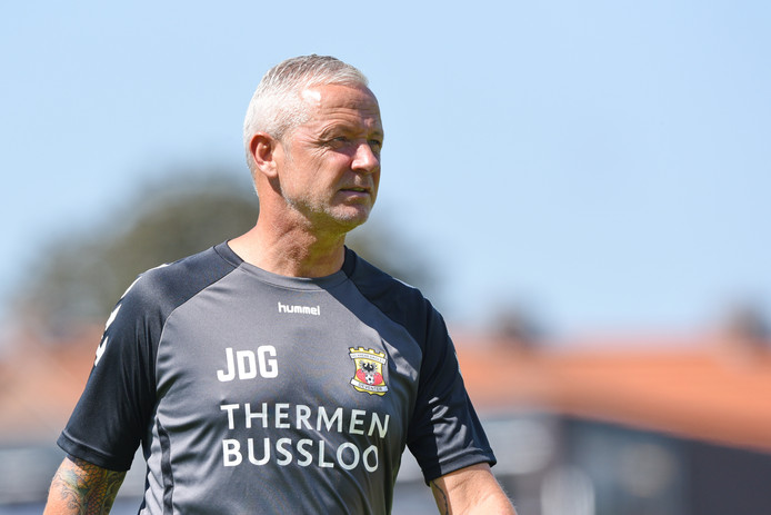 Jack de Gier trainer-coach Go Ahead Eagles