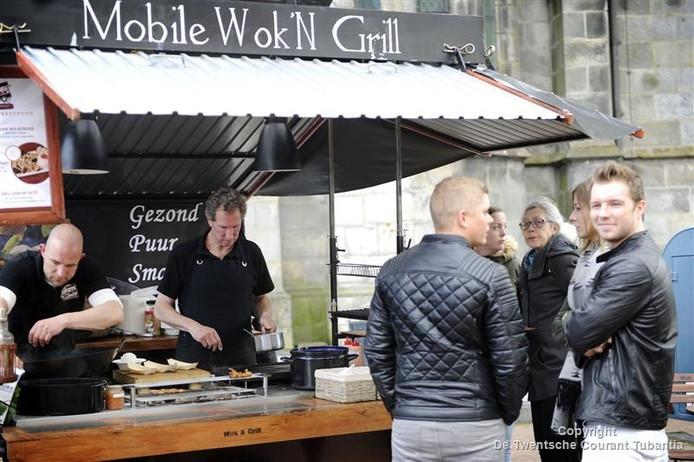 Archiefbeeld Fashion Food Festival in Haaksbergen