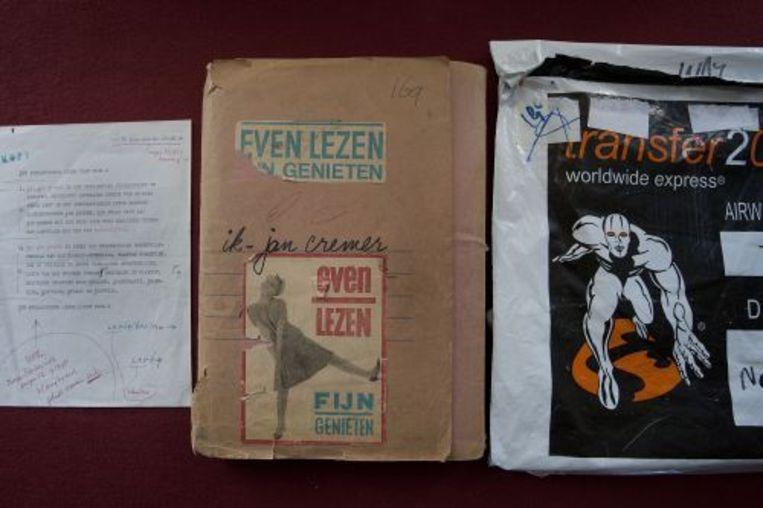 Het orginele manuscript Ik Jan Cremer. ANP Beeld
