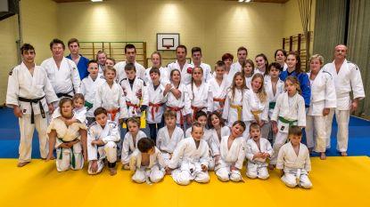 Judoschool klinkt op nieuwe jaar