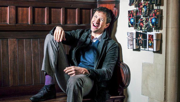Chris Kutarna in Oxford. Beeld Jiri Buller