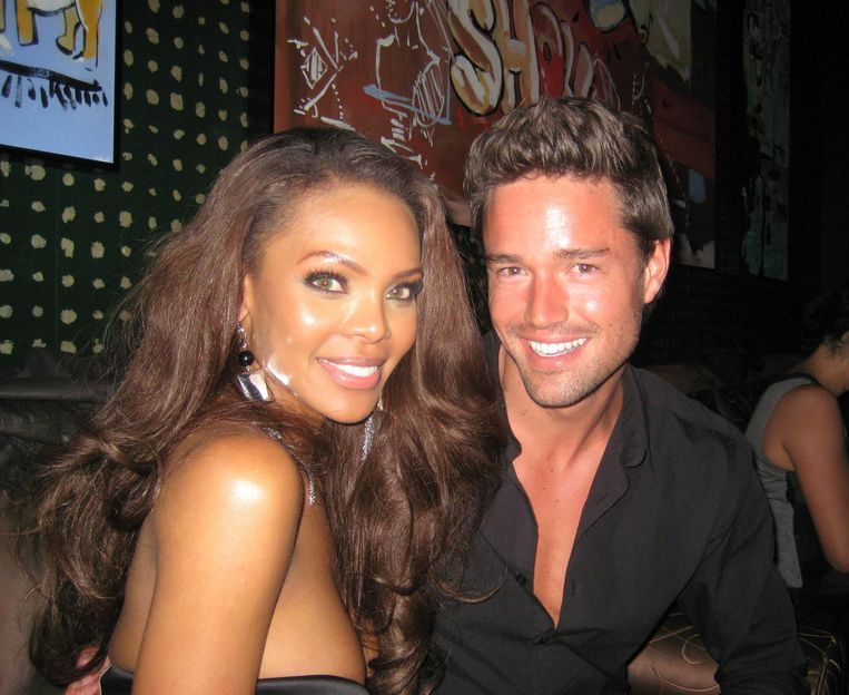 Maxime Sebrechts trouwt met Crystle Stewart, actrice en Miss USA 2008.