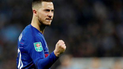 FT buitenland (25/2). Eden Hazard volgens studie derde beste dribbelaar op Europese velden - UEFA opent procedures tegen Simeone en Allegri