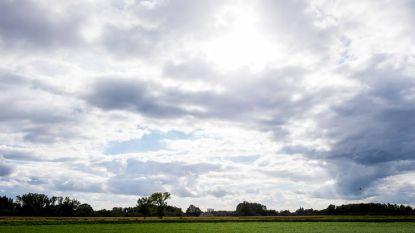 Bewolkt maar droog, woensdag kans op regenbui