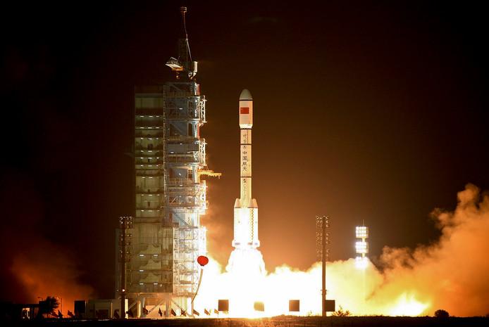 China bracht voorheen alleen door de staat ontwikkelde raketten de ruimte in
