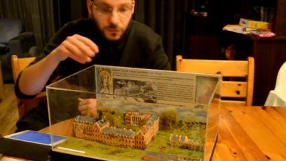 Kasteel van Mesen herleeft in Nederlandse maquette box