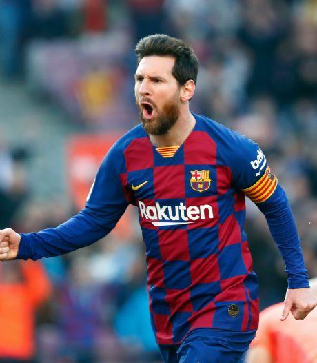 Messi op weg naar de duizend
