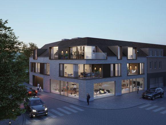 Zo zal de nieuwe residentie eruitzien.