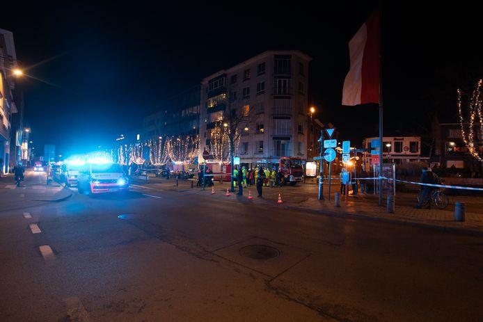 Hasselt centrum opgeschrikt door een gasontploffing.