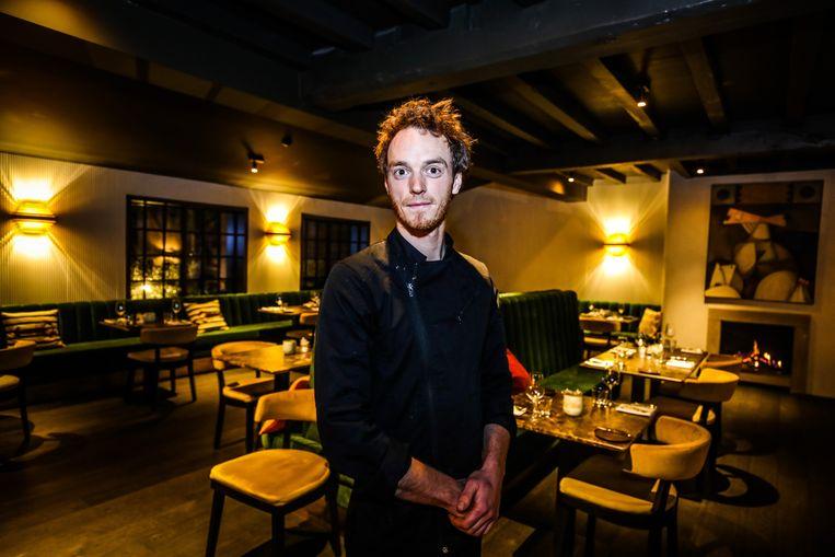 Andreas Thelander, chef-kok van Het Keukenhof in Koksijde